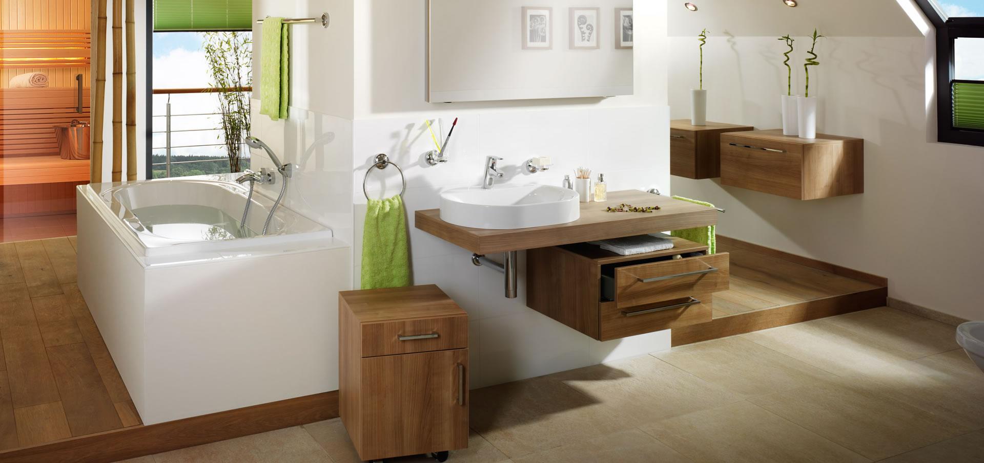 Sanitär-Bad-Badgestaltung - Heizung-Sanitär Johannes Dede